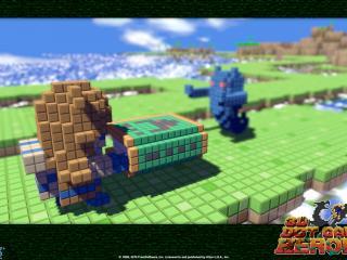 обои 3D Dot Game Heroes монстрики фото
