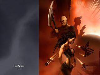 обои EVE Online воин фото