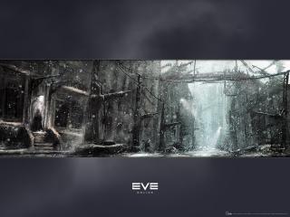 обои EVE Online город фото