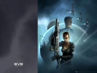 обои EVE Online девушка фото