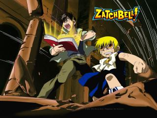 обои Zatchbell! злые фото