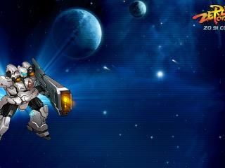 обои Zero Online в космосе фото