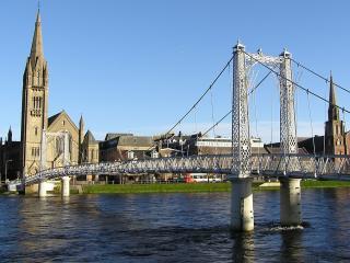 обои Мост на реке фото