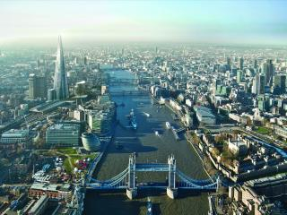 обои Вид на центр Лондона фото