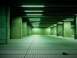 обои Подземная парковка фото