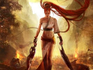 обои Heavenly Sword фото