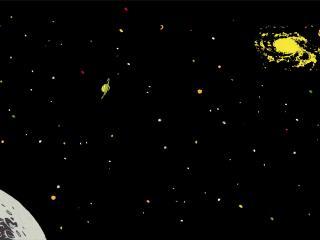 обои Кельвин в космосе фото