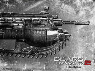 обои Gears of War 2 Limited Edition оружие фото