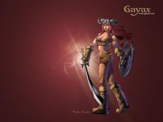 обои Gayax девущка фото