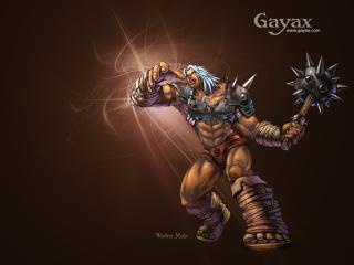обои Gayax злой фото
