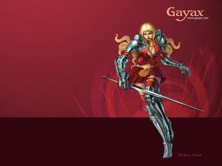 обои Gayax красавица фото