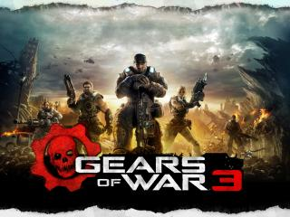 обои Gears of War 3 классно фото