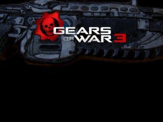 обои для рабочего стола: Gears of War 3 красивое оружие