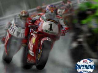 обои Superbike 2001 гонка фото