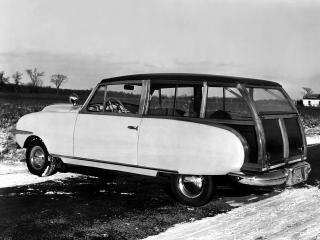 обои Playboy Station Wagon 1949 сбоку фото