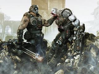 обои для рабочего стола: Gears of War 3 убивает