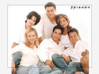 обои Друзья в белых одеждах фото