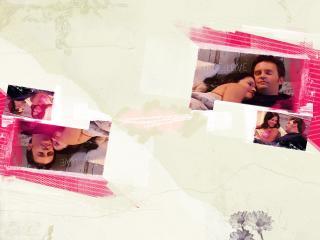 обои Моника и Чендлер вместе фото