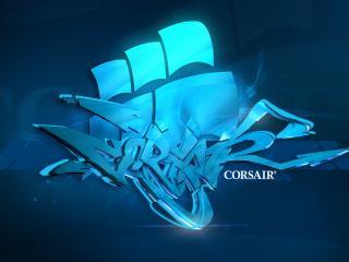 обои Корсар графити логотип фото