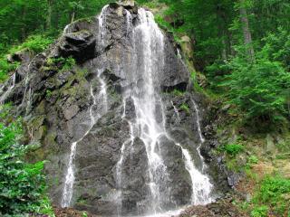 обои Громадный водопад в Германии фото