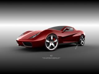 обои Ugur Sahin Design Chevrolet Corvette Z03 дорогой фото