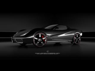 обои Ugur Sahin Design Chevrolet Corvette Z03 колесо фото