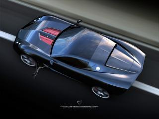обои Ugur Sahin Design Chevrolet Corvette Z03 крыша фото