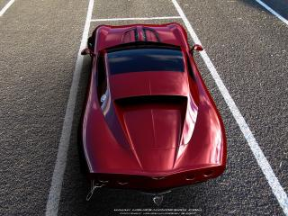 обои Ugur Sahin Design Chevrolet Corvette Z03 сверху фото