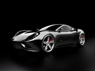 обои Ugur Sahin Design Ferrari DINO черный фото
