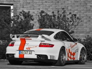обои Wimmer RS Porsche 911 GT2 Speed Biturbo зад фото