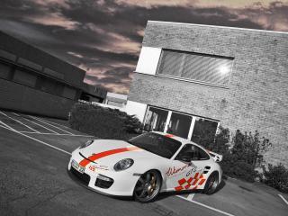 обои Wimmer RS Porsche 911 GT2 Speed Biturbo перед фото