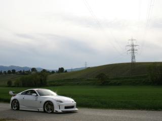 обои Xeigen Nissan 350Z сбоку фото
