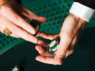 обои Зеленые фишки фото