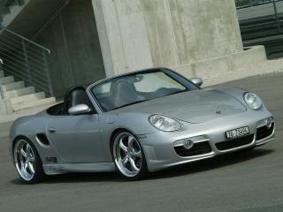 обои Z-Art Porsche Boxter перед фото