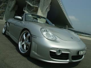 обои Z-Art Porsche Boxter фараjpg фото