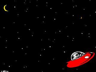 обои для рабочего стола: Путешествуя по галактике