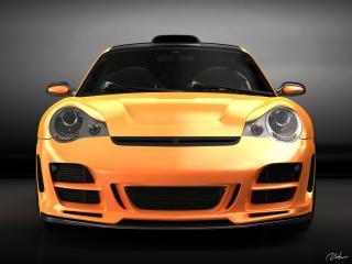 обои Top Art Porsche 911 996 перед фото