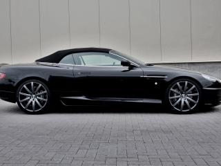 обои Wheelsandmore Aston Martin DB9 Convertible бок фото