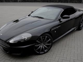 обои Wheelsandmore Aston Martin DB9 Convertible капот фото