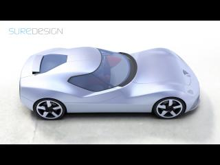 обои SURE Design Toyota 2000 SR крыша фото