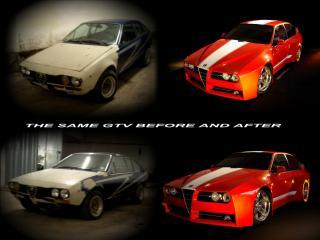 обои Racer X Design Alfa Romeo GTV Evoluzione работа фото