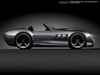 обои Racer X Design KC427 бок фото