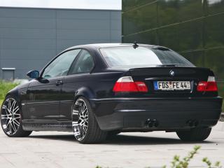 обои Kneibler Autotechnik BMW M3 E46 supercharged задок фото