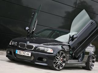 обои Kneibler Autotechnik BMW M3 E46 supercharged крылья фото