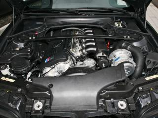 обои Kneibler Autotechnik BMW M3 E46 supercharged мотор фото