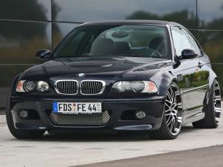 обои Kneibler Autotechnik BMW M3 E46 supercharged передок фото