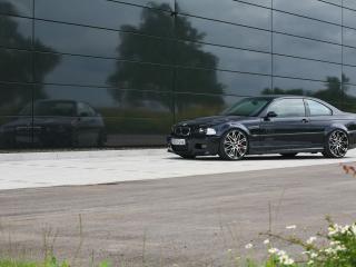 обои Kneibler Autotechnik BMW M3 E46 supercharged сбоку фото