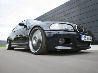 обои Kneibler Autotechnik BMW M3 E46 supercharged скорость фото