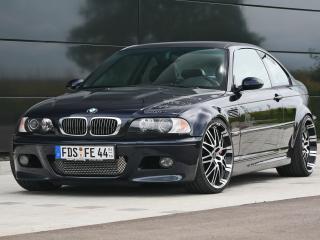 обои Kneibler Autotechnik BMW M3 E46 supercharged спереди фото