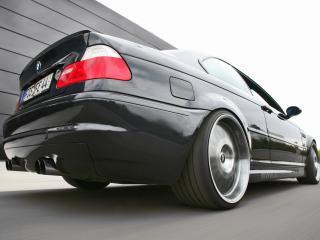 обои Kneibler Autotechnik BMW M3 E46 supercharged стопы фото